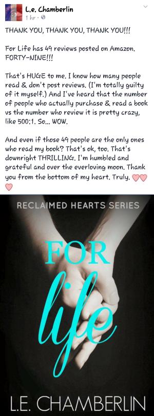 author appreciation