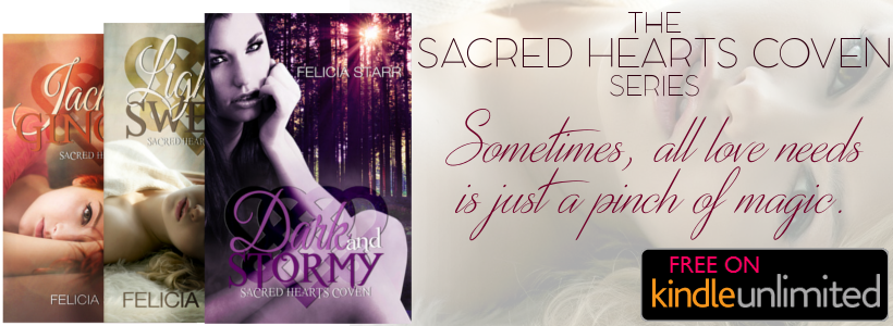 Bookstore - The Sacred Hearts Coven Series by Felicia Starr