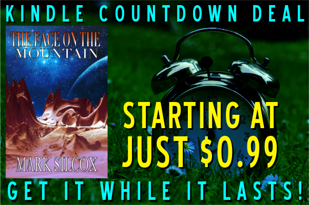 Marck Silcox - The Face On The Mountain Kindle Countdown Promo Graphic