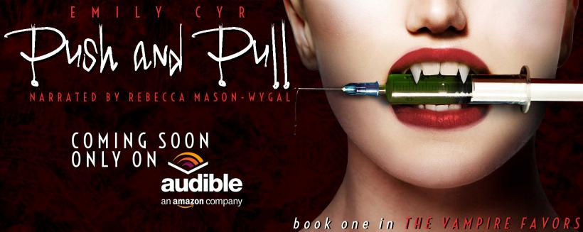 Emily Cyr - Push & Pull Audio Book HeadTalker Banner